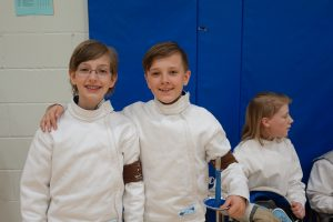 Friends, friendships, friendship, fencing