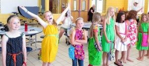 Project Runway sewing camps for kids.