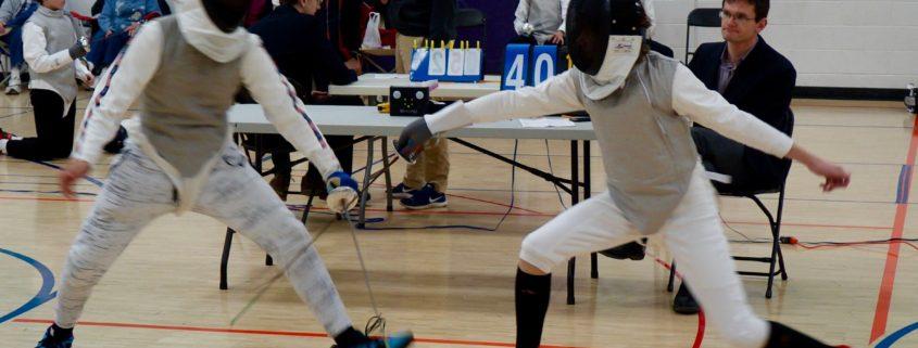 Fencing Team Dual Meet